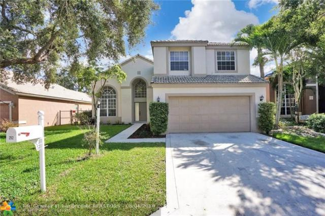 252 NW 117th Ave, Coral Springs, FL 33071 (MLS #F10135110) :: Green Realty Properties