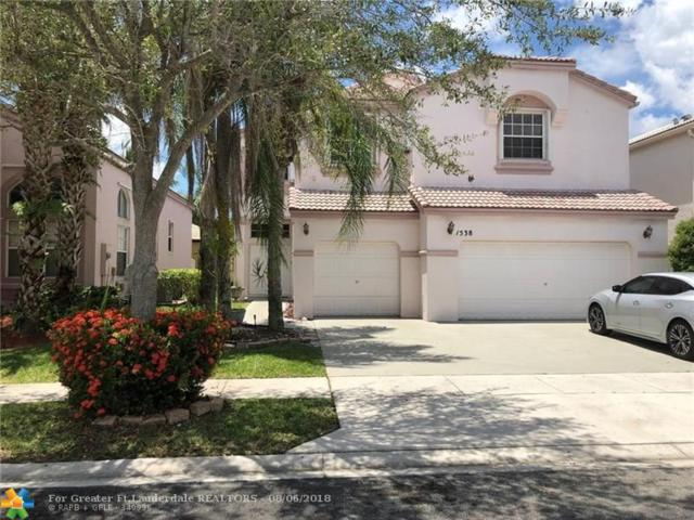 1538 NW 159th Ave, Pembroke Pines, FL 33028 (MLS #F10135331) :: Green Realty Properties