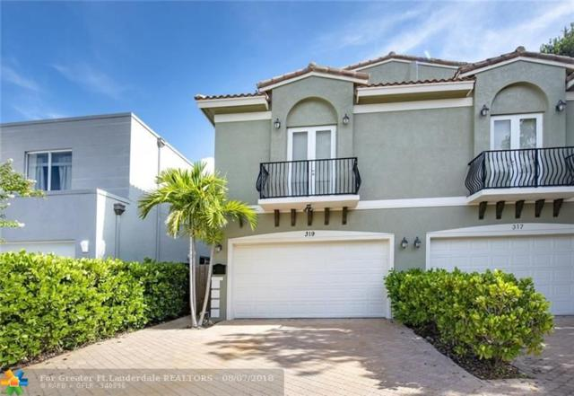 319 SW 11 St #319, Fort Lauderdale, FL 33315 (MLS #F10135458) :: Green Realty Properties