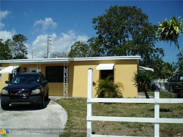 1437 NE 48th St, Pompano Beach, FL 33064 (MLS #F10135459) :: Laurie Finkelstein Reader Team