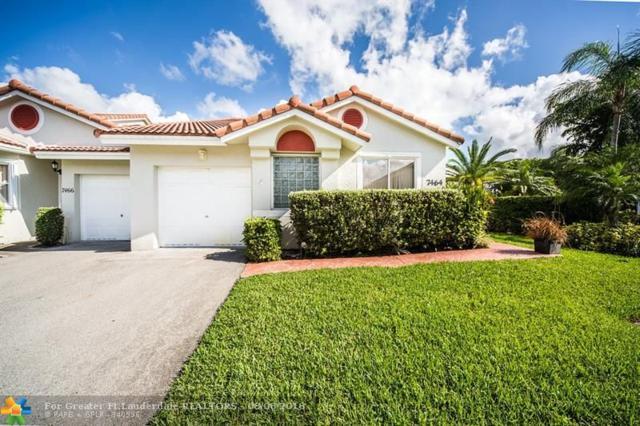 7464 Pinewalk Dr S 81-18, Margate, FL 33063 (MLS #F10135698) :: Green Realty Properties