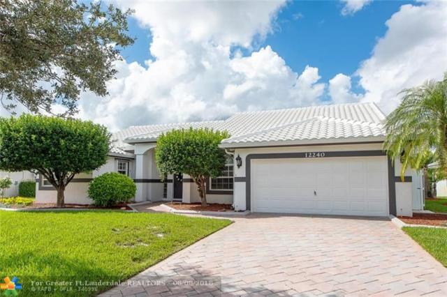 12240 NW 26th St, Plantation, FL 33323 (MLS #F10135700) :: Green Realty Properties