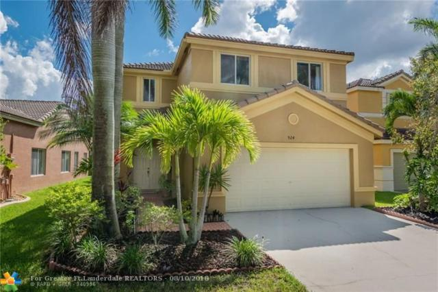 924 Phoenix Way, Weston, FL 33327 (MLS #F10135858) :: Green Realty Properties