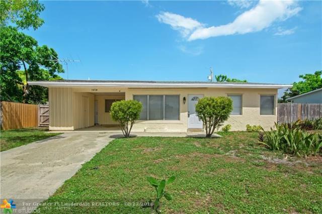 2810 NE 9th Terrace, Pompano Beach, FL 33064 (MLS #F10136412) :: Green Realty Properties