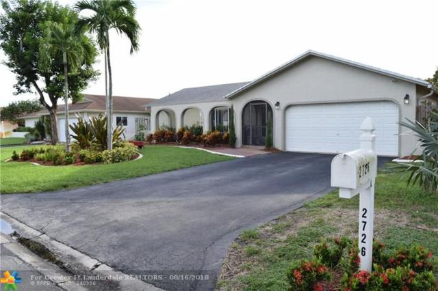 2726 NW 98th Ter, Coral Springs, FL 33065 (MLS #F10136454) :: United Realty Group