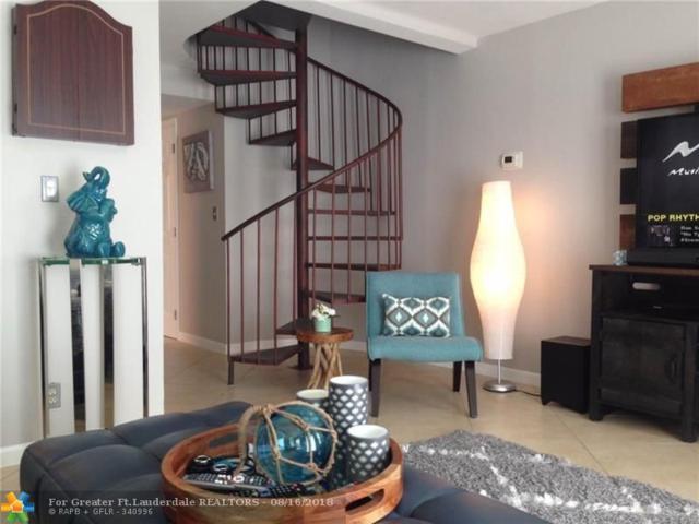 640 Tennis Club Dr #309, Fort Lauderdale, FL 33311 (MLS #F10136818) :: Green Realty Properties