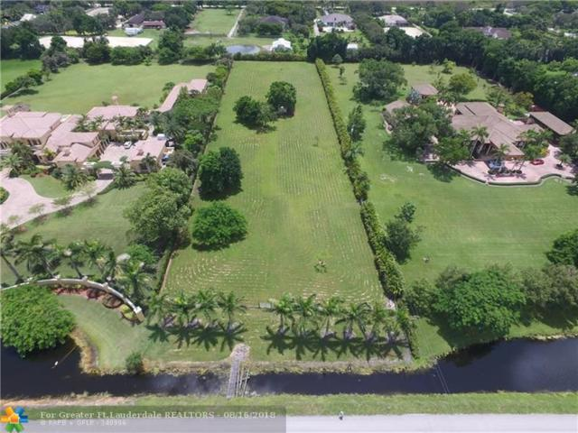 13400 Mustang Trl, Southwest Ranches, FL 33330 (MLS #F10136866) :: Green Realty Properties