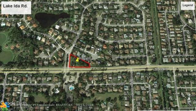 0 Lake Ida Rd, Delray Beach, FL 33445 (MLS #F10136913) :: Green Realty Properties