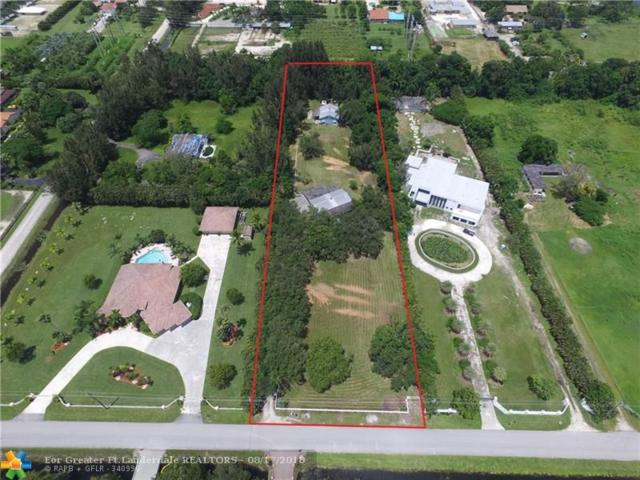 13451 Mustang Trl, Southwest Ranches, FL 33330 (MLS #F10136999) :: Green Realty Properties