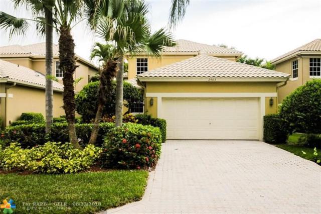 2483 NW 66th Dr, Boca Raton, FL 33496 (MLS #F10137449) :: Green Realty Properties