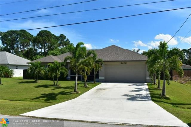 1000 SW Dubois, Port Saint Lucie, FL 34953 (MLS #F10138341) :: Green Realty Properties