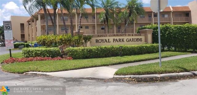 6570 Royal Palm Blvd 205 J, Margate, FL 33063 (MLS #F10138382) :: Green Realty Properties
