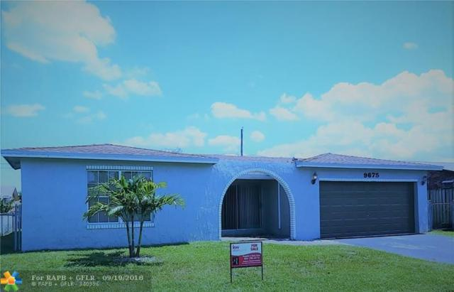 9675 NW 19th Pl, Sunrise, FL 33322 (MLS #F10138519) :: Green Realty Properties