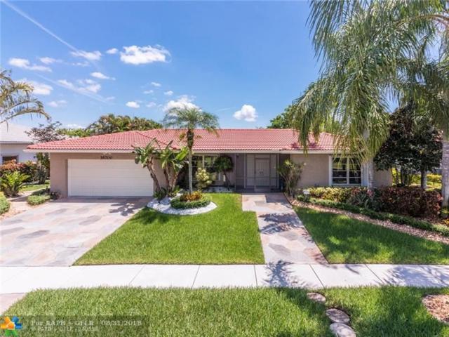 16700 Waters Edge Dr, Weston, FL 33326 (MLS #F10138552) :: Green Realty Properties