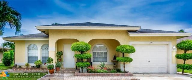 336 NW 16th Pl, Pompano Beach, FL 33060 (MLS #F10138716) :: Green Realty Properties