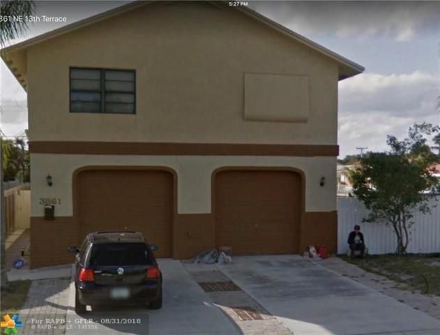 3861 NE 13th Ter, Pompano Beach, FL 33064 (MLS #F10139042) :: Green Realty Properties