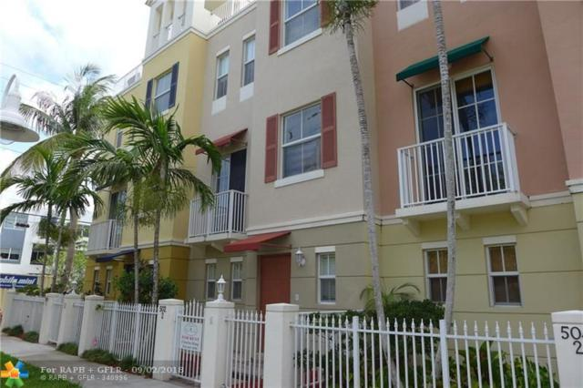 502 NE 7th Ave #2, Fort Lauderdale, FL 33301 (MLS #F10139046) :: Green Realty Properties