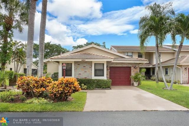 684 Deer Creek North Shore Dr #684, Deerfield Beach, FL 33442 (MLS #F10139309) :: Green Realty Properties