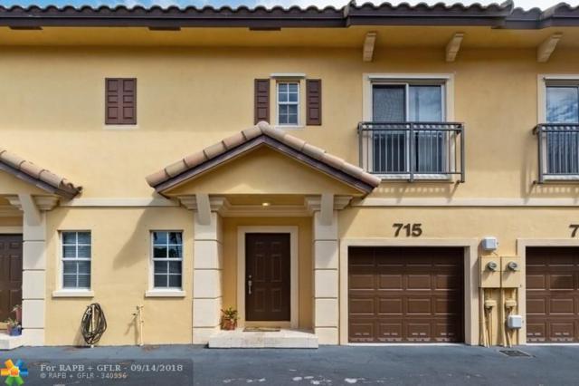 715 NE 43rd St #715, Oakland Park, FL 33334 (MLS #F10139553) :: Green Realty Properties