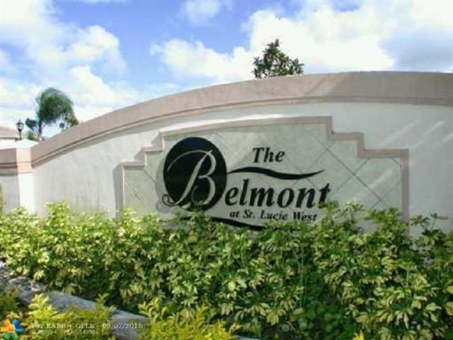 106 SW Peacock 4-204, Port Saint Lucie, FL 34986 (MLS #F10139782) :: Green Realty Properties