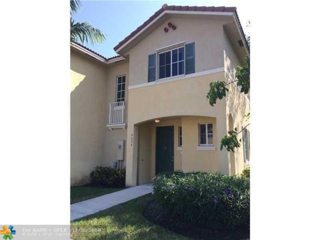 6056 SW 19th Pl #6056, North Lauderdale, FL 33068 (MLS #F10139819) :: Green Realty Properties