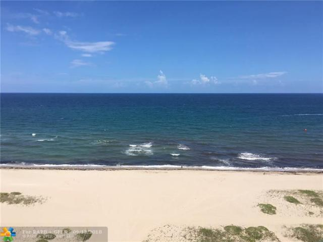 710 N Ocean Blvd #1007, Pompano Beach, FL 33062 (MLS #F10139919) :: Green Realty Properties