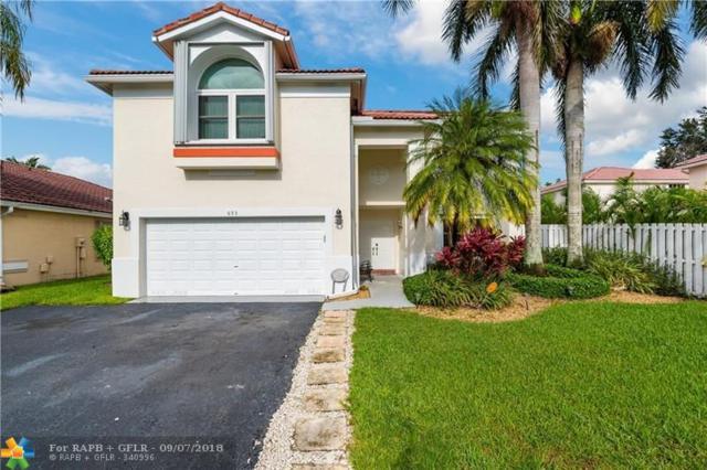 693 NW 133rd Way, Plantation, FL 33325 (MLS #F10139977) :: Green Realty Properties