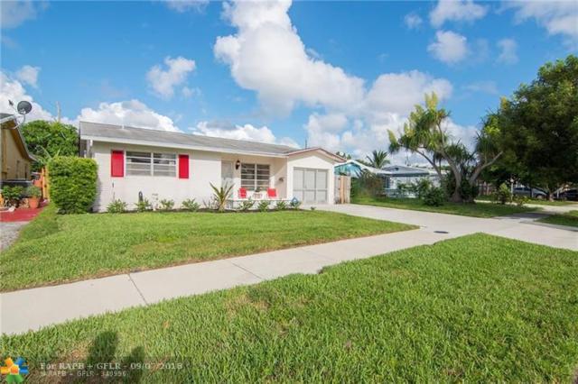 3811 NE 16th Ave, Pompano Beach, FL 33064 (MLS #F10139992) :: Green Realty Properties