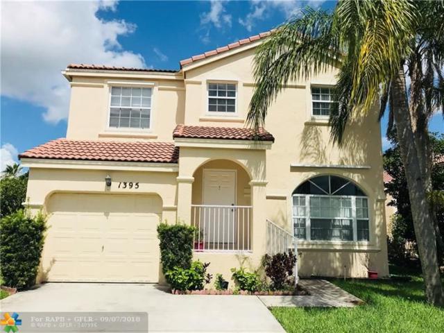 1395 NW 159th Ln, Pembroke Pines, FL 33028 (MLS #F10140116) :: Green Realty Properties