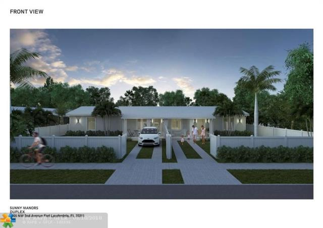 1205 NW 2nd Ave #1, Fort Lauderdale, FL 33311 (MLS #F10140130) :: EWM Realty International