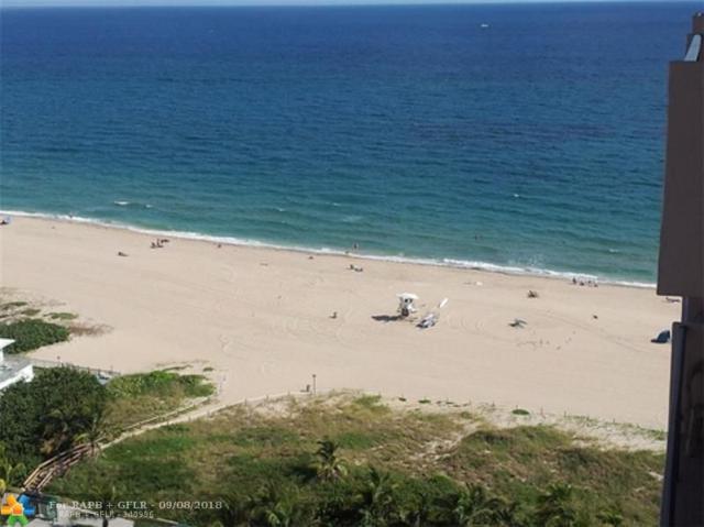 405 N Ocean Blvd #1905, Pompano Beach, FL 33062 (MLS #F10140176) :: Green Realty Properties