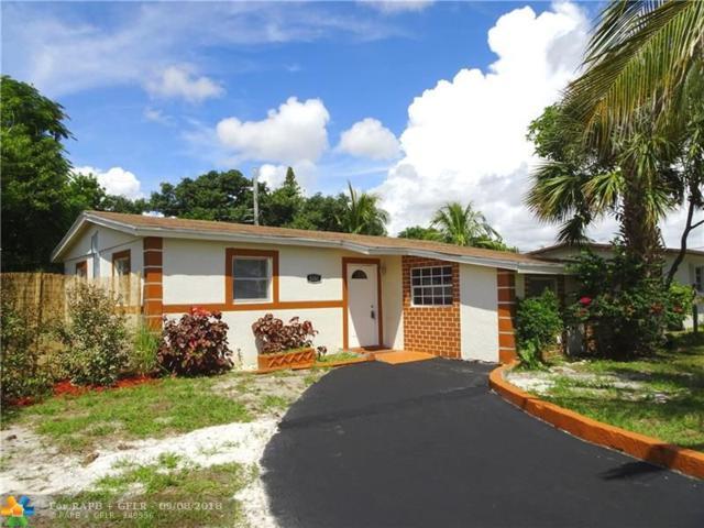 5351 NE 10th Ave, Pompano Beach, FL 33064 (MLS #F10140206) :: Green Realty Properties