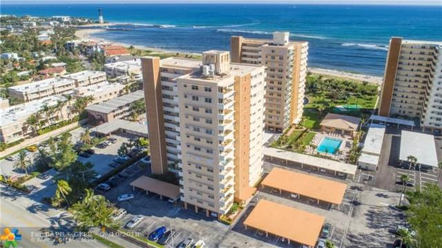 1630 N Ocean Blvd #1013, Pompano Beach, FL 33062 (MLS #F10140262) :: Green Realty Properties