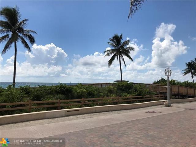 101 N Ocean Dr #221, Hollywood, FL 33019 (MLS #F10140895) :: Green Realty Properties