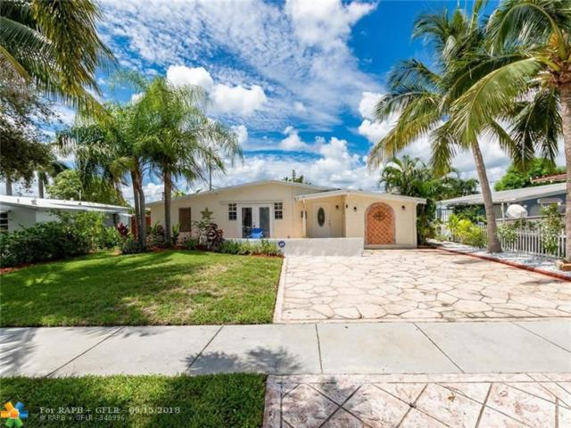 5811 NE 2nd Ter, Fort Lauderdale, FL 33334 (MLS #F10141101) :: Green Realty Properties