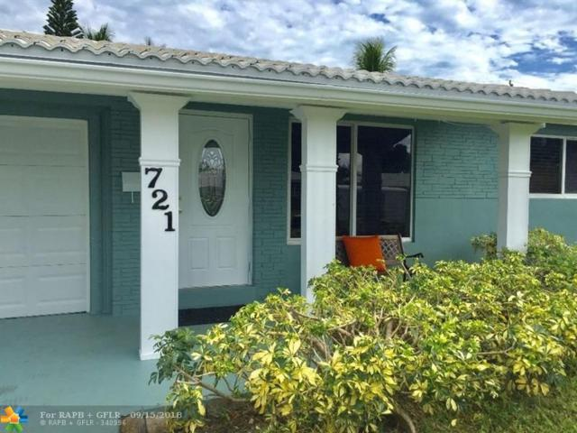 721 NE 47th Ct, Fort Lauderdale, FL 33334 (MLS #F10141236) :: Green Realty Properties