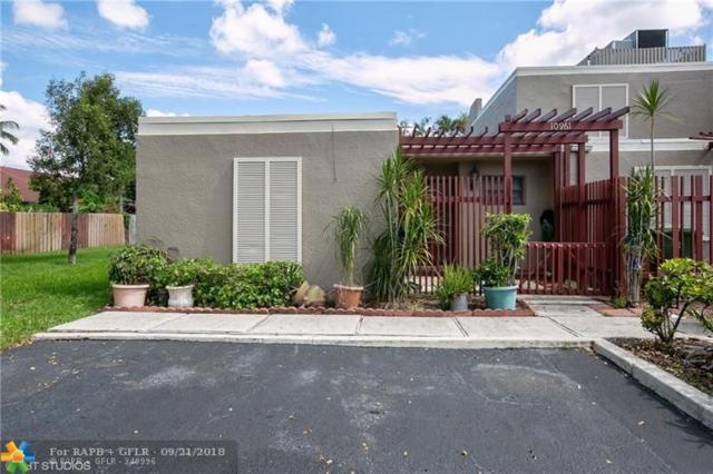 10961 Cedar Ln #10961, Pembroke Pines, FL 33026 (MLS #F10141496) :: Green Realty Properties