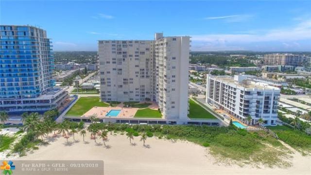 750 N Ocean Blvd 2002-2003, Pompano Beach, FL 33062 (MLS #F10141687) :: Green Realty Properties
