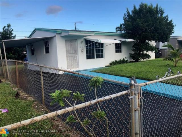 601 N 69th Ave, Hollywood, FL 33024 (MLS #F10141735) :: Green Realty Properties