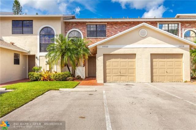 10723 NW 11th St #10723, Pembroke Pines, FL 33026 (MLS #F10141853) :: Green Realty Properties