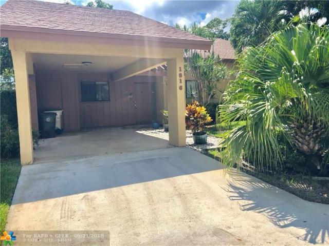 1816 Tamarind Ln #1816, Coconut Creek, FL 33063 (MLS #F10141859) :: The Dixon Group