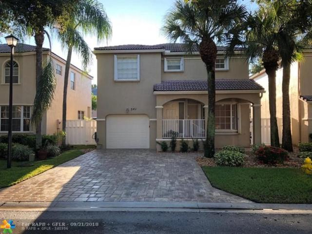 541 NW 87th Way, Coral Springs, FL 33071 (MLS #F10141924) :: Green Realty Properties