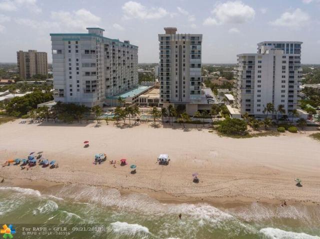 1000 S Ocean Blvd 5E, Pompano Beach, FL 33062 (MLS #F10141944) :: The O'Flaherty Team
