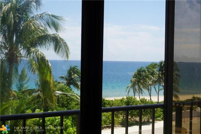 1901 N Ocean Blvd 4-A, Fort Lauderdale, FL 33305 (MLS #F10141982) :: Green Realty Properties