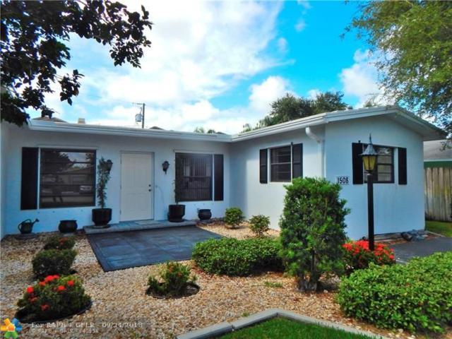 1508 SW 22nd St, Fort Lauderdale, FL 33315 (MLS #F10142162) :: Green Realty Properties