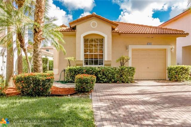 6361 NW 38th Dr, Coral Springs, FL 33067 (MLS #F10142166) :: The Dixon Group