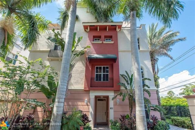 1033 NE 17th Way #801, Fort Lauderdale, FL 33304 (MLS #F10142202) :: Green Realty Properties