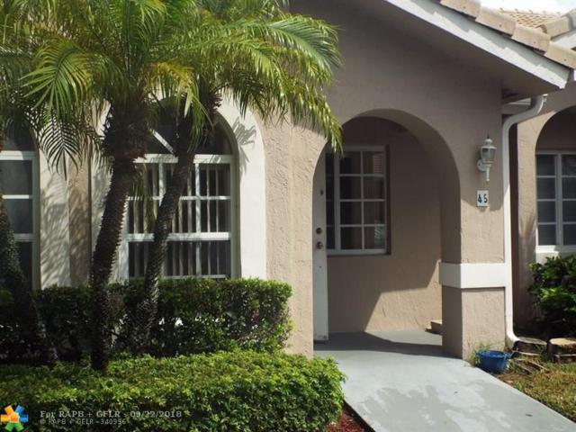 3185 Holiday Springs Blvd #45, Margate, FL 33063 (MLS #F10142227) :: The O'Flaherty Team
