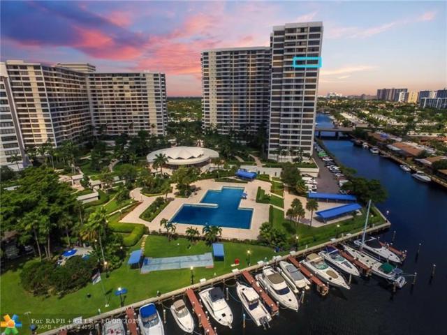2500 Parkview Dr #1701, Hallandale, FL 33009 (MLS #F10142231) :: Green Realty Properties