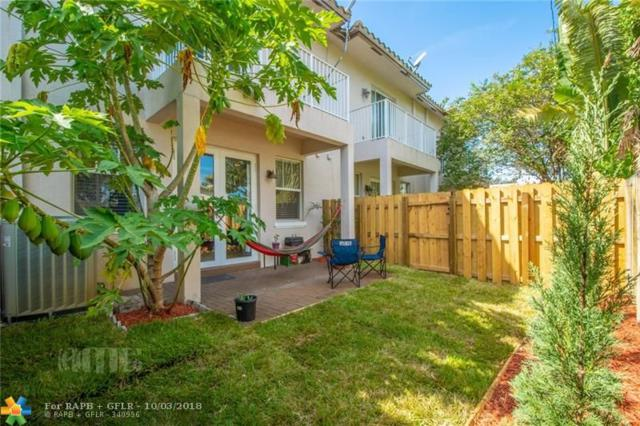 468 NW 43rd St #468, Oakland Park, FL 33309 (MLS #F10142397) :: Green Realty Properties